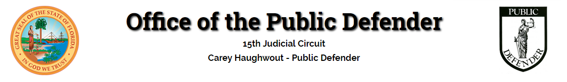 Office of the Public Defender - Palm Beach County